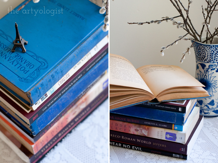 Taking Part in a Book Lover's Tag, the artyologist, book-pics