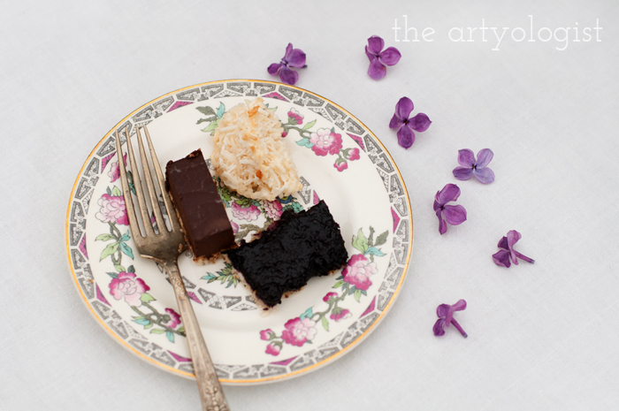 The Ladies Garden Tea (Which is not in a Garden): The Decor, desserts