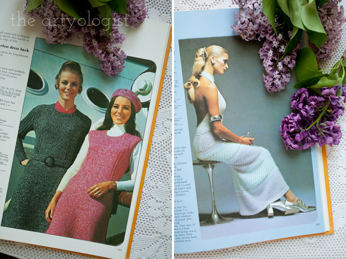 A Fashion Moment with Creative Hands: Lilac, knitwear