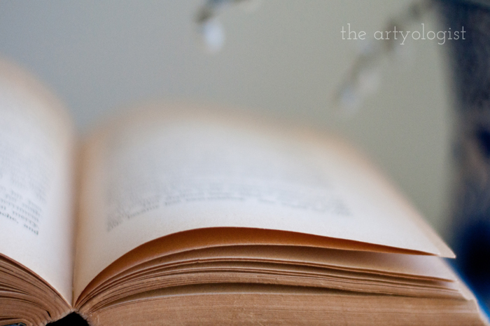 Taking Part in a Book Lover's Tag, the artyologist, open-book
