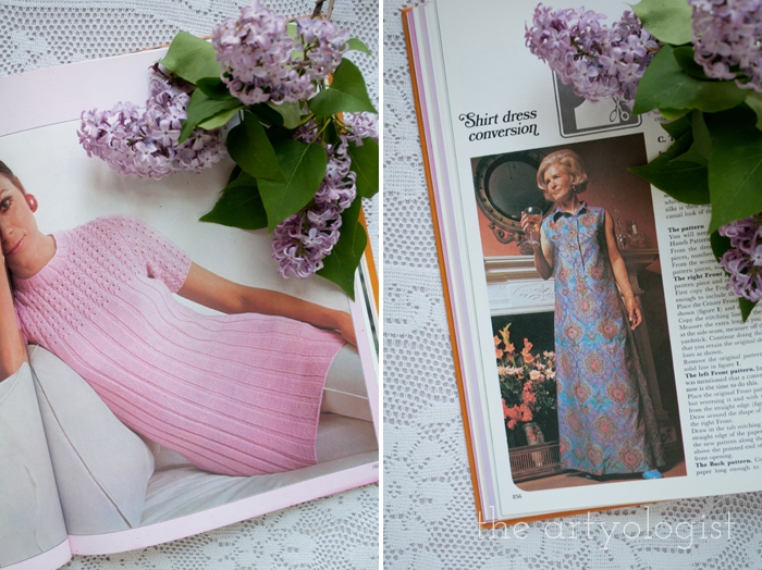 A Fashion Moment with Creative Hands: Lilac, pink and kaftan dress