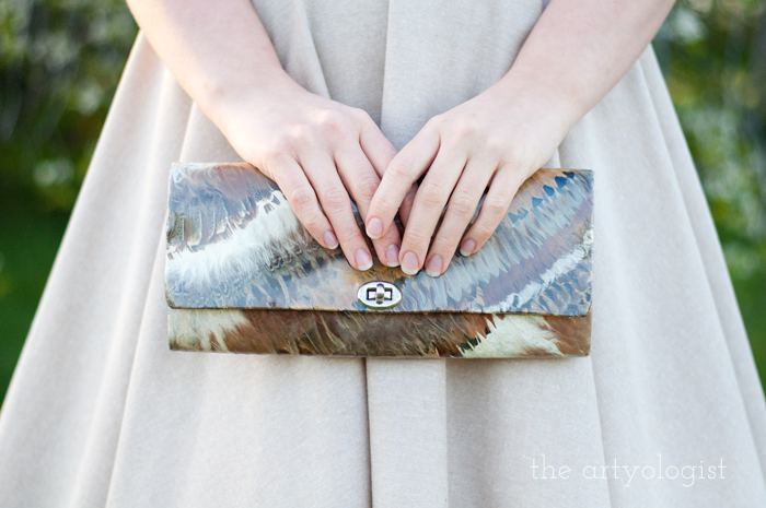 The Circle Skirt Strikes Again, the artyologist, purse