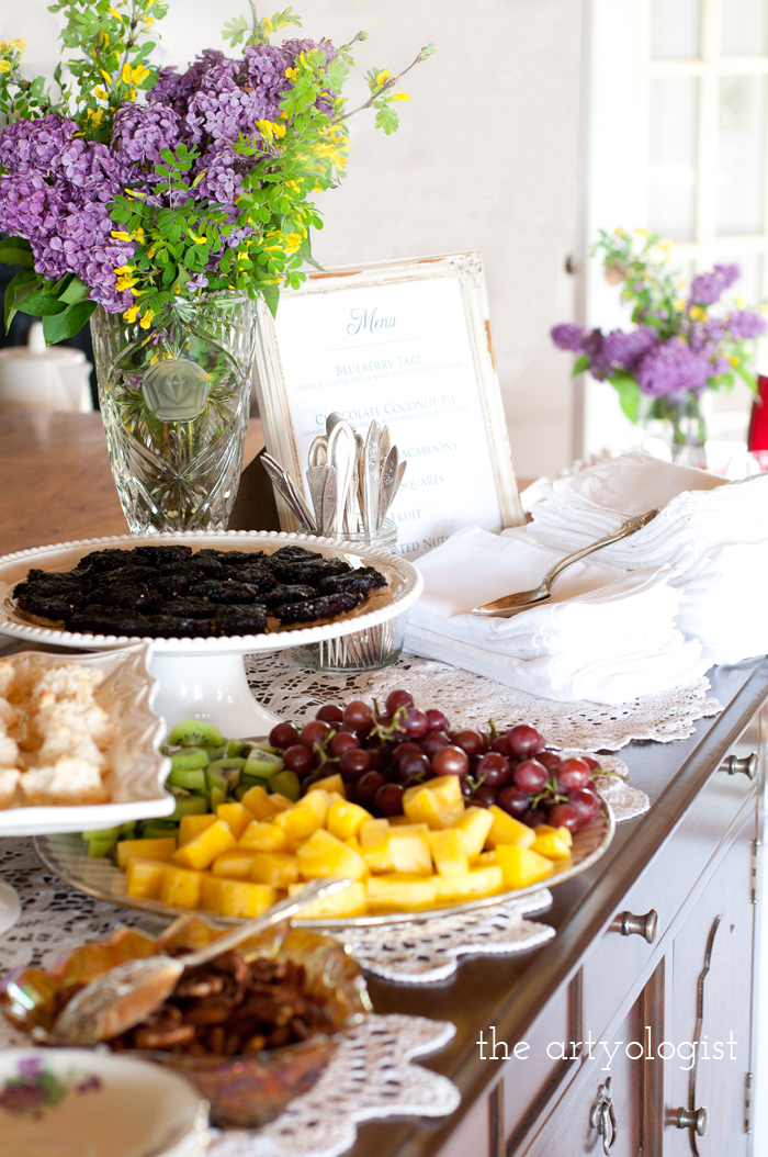 The Ladies Garden Tea (Which is not in a Garden): The Decor, tablescape