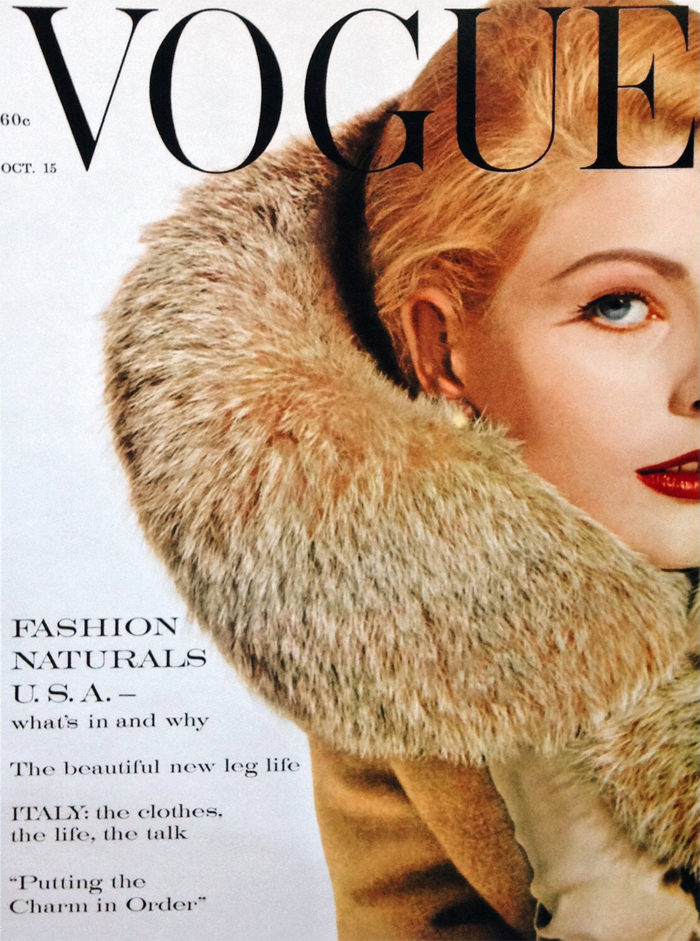 1960,-Vogue-Cover, the artyologist