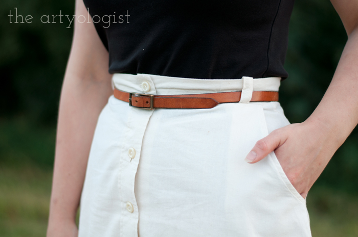 Crossing Over to the Solid Separates Side, the artyologist, belt-detail