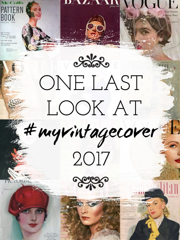 One Last Look at #myvintagecover 2017, the artyologist