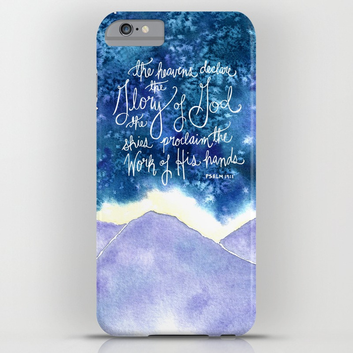 The Heavens Declare Phone Case