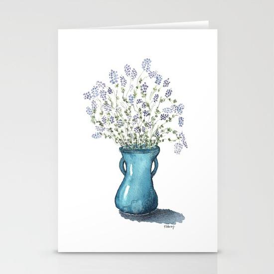 Alfalfa Bouquet, Stationery Cards