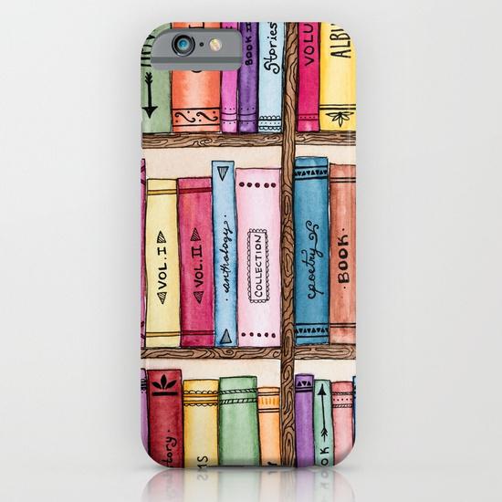 The Bookshelf, Phone Case