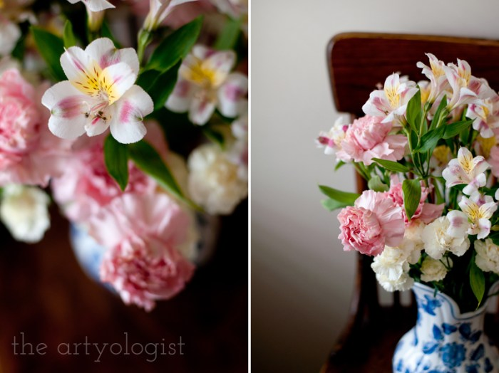 Life Lately and An Everlasting Bouquet of Flowers, flower details