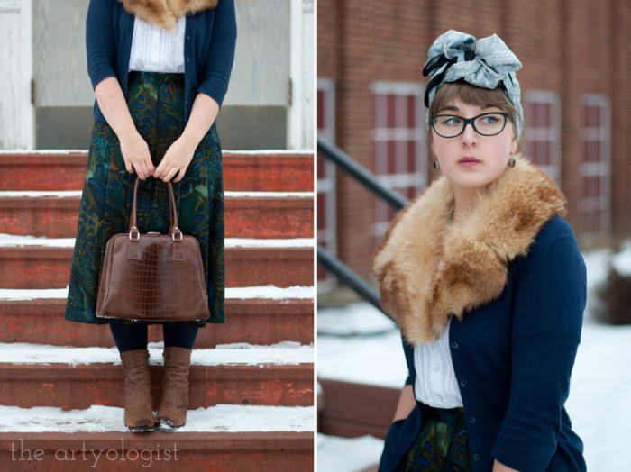 The Obvious Guide for How to Stay Warm in Winter Without Sacrificing Style, vintage turban