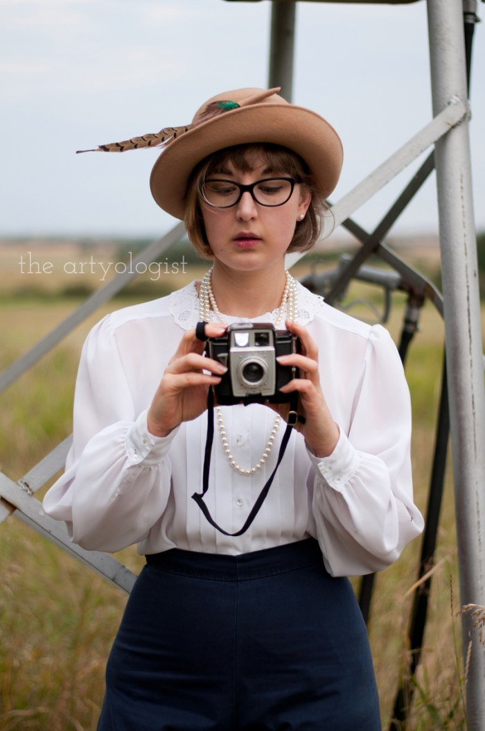 Wearing Vintage (Or Alternative Style) vs. a Costume, vintage camera, the artyologist