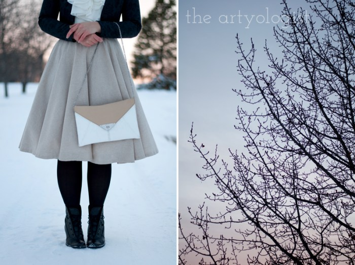 An Outfit Containing a Pleasant Surprise, purse detail, the artyologist