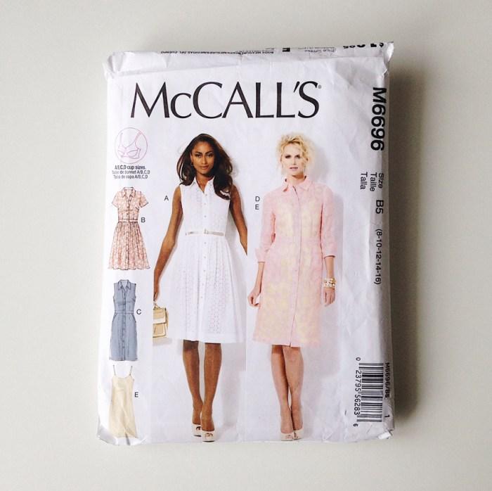 2018, Make Nine, McCall's 6696, the artyologist