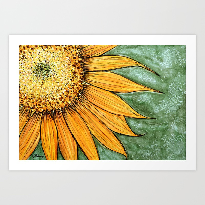 The Sunflower, Giclee Print