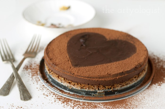 valentines day cake, the artyologist