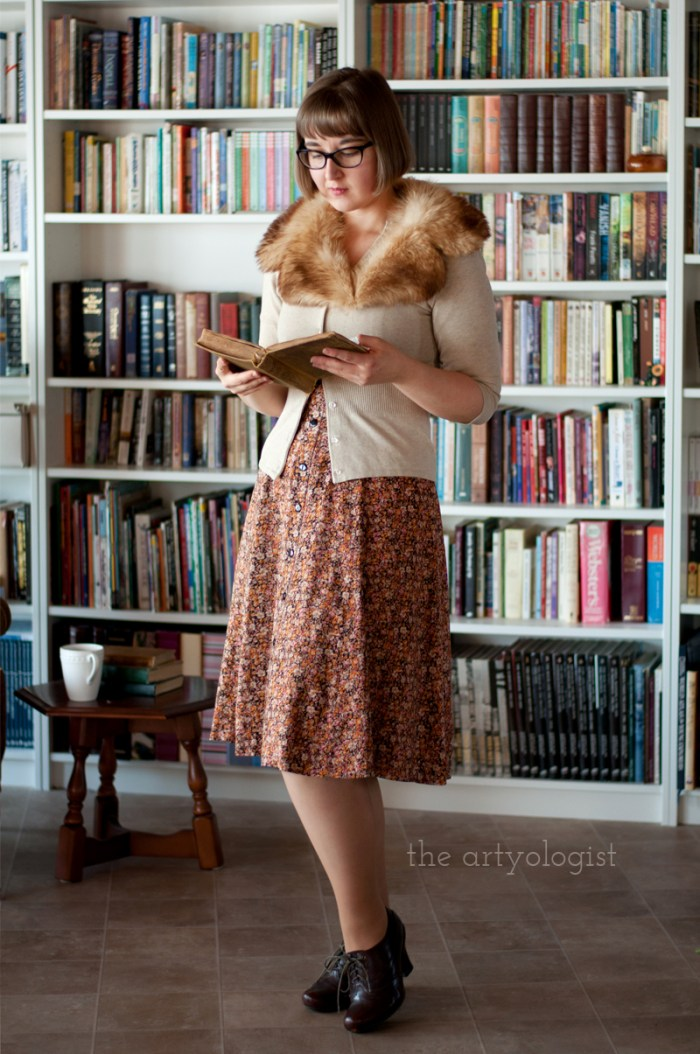 Sustainable Shopping: A Swedish Stockings Review, the artyologist, vintage style outfit