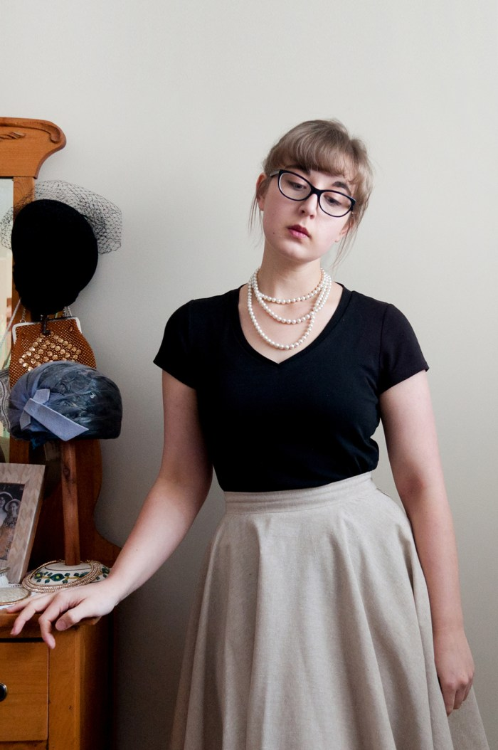 One Circle Skirt Seven Ways, the artyologist