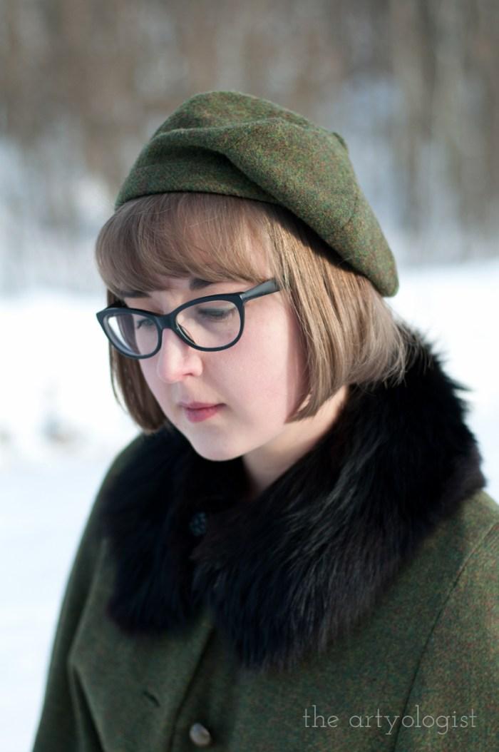 tanith rowan designs graevilla beret, the artyologist
