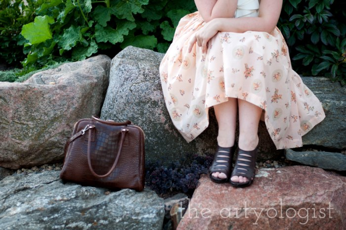 Creating A Well Loved Wardrobe, shoes and bag , the artyologist