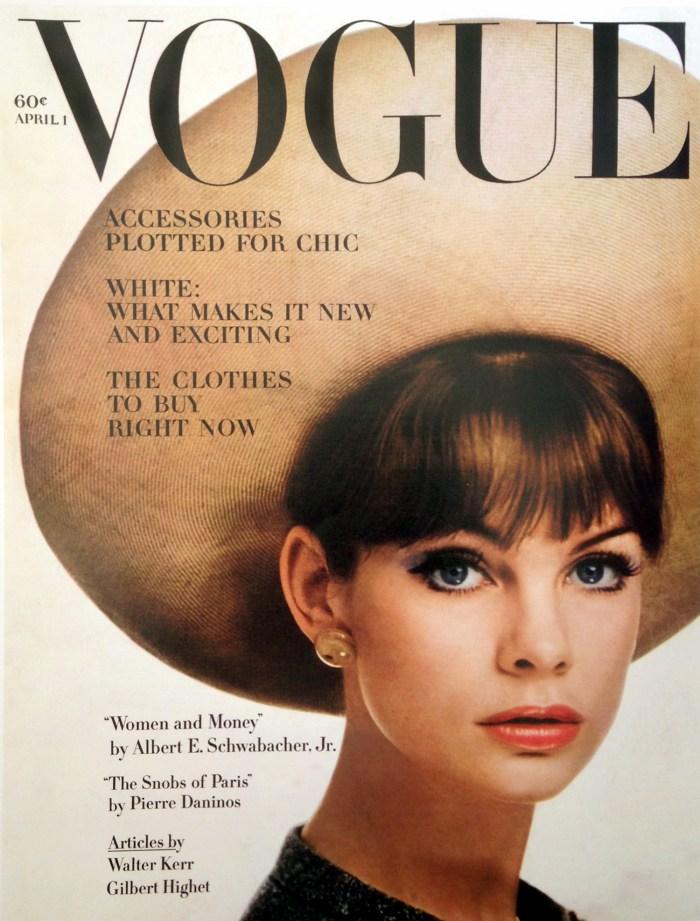 Vintage Covers: Vogue April 1963