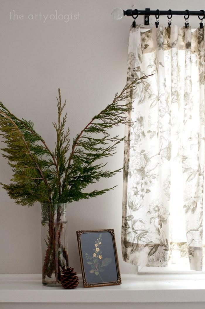 evergreen christmas bouquet
