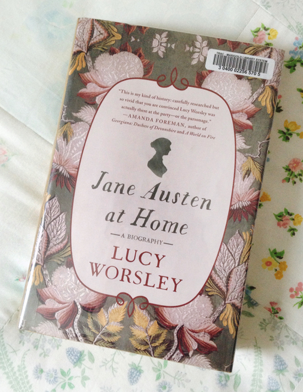 Jane Austen at Home book cover