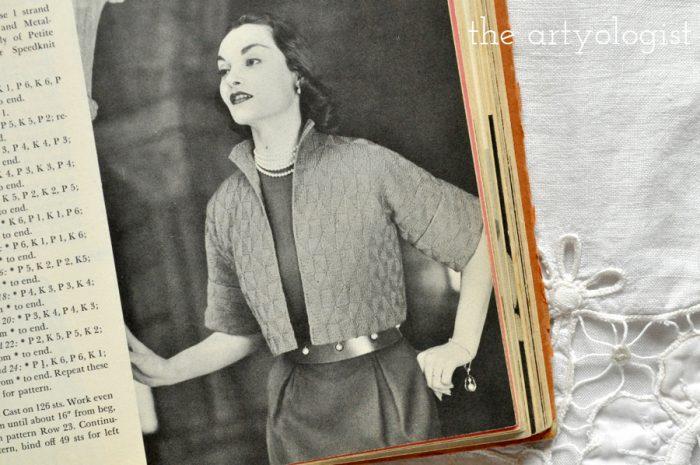 a vintage 1950's style bolero