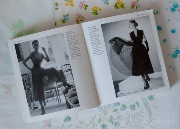 two vintage ladies wearing 1950's dresses