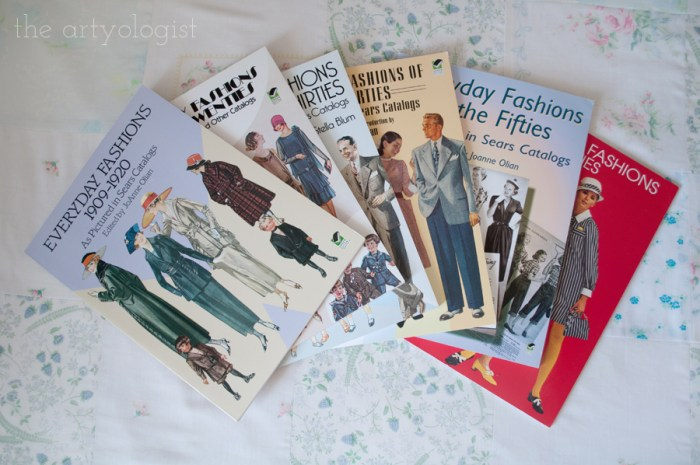 everyday fashions series of books covers