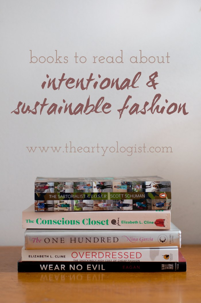 a stack of fashion books