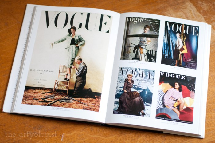 Vogue: The Covers page