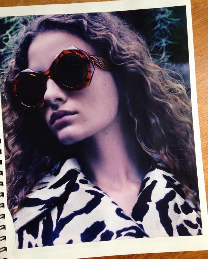 bold octaganal sunglasses