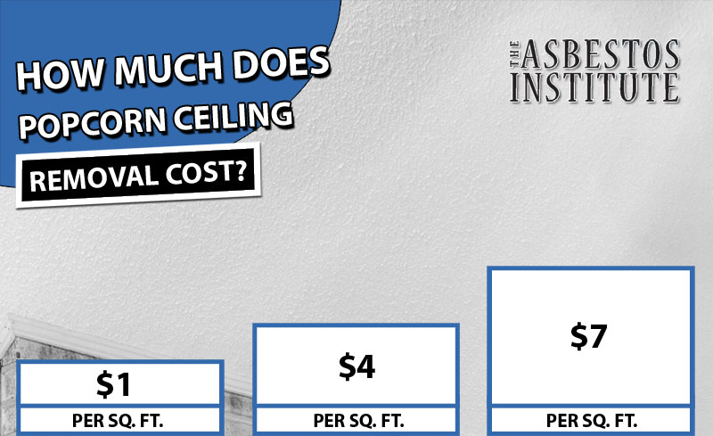 popcorn ceiling removal cost the
