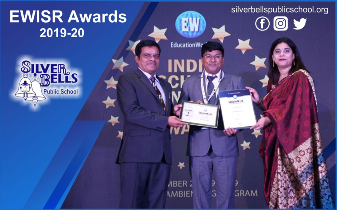 EWISR Awards (2019-20) Silver Bells Public School Amarjyoti Gohil Ankit Akolkar The ASIS Group