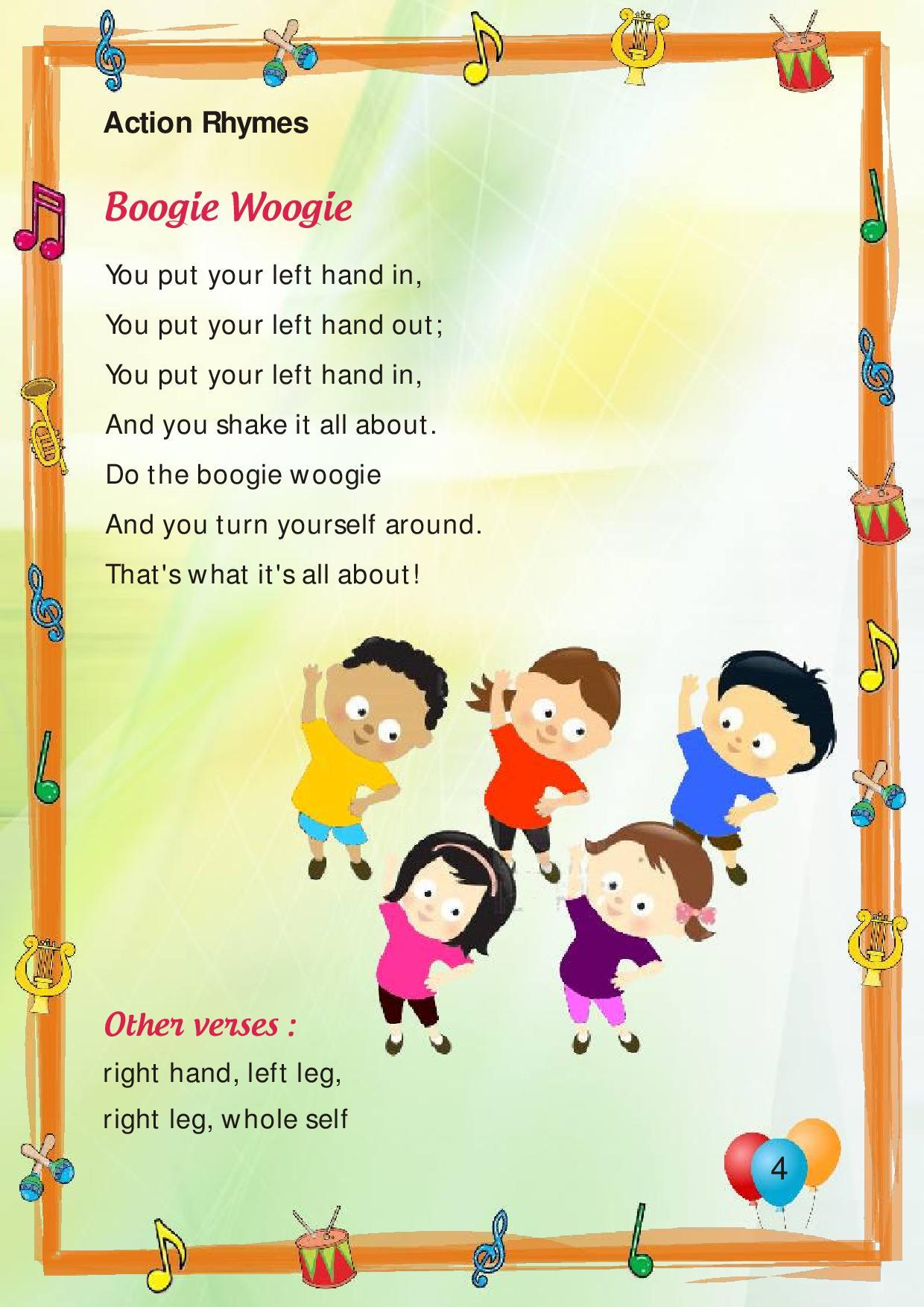 Poems For Nursery Thenurseries