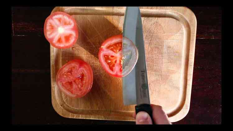 Slicing A Tomato & Unintentional ASMR