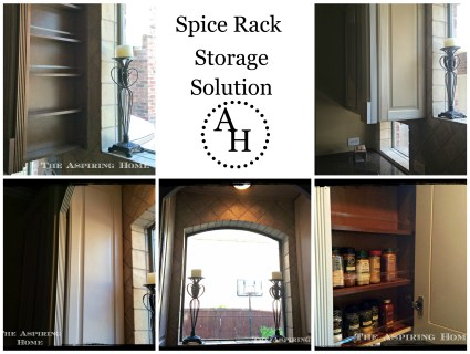 spice rack storage solution