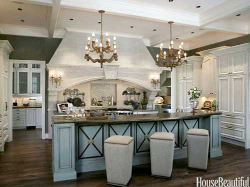 Easy Kitchen Island Makeover - The Aspiring Home