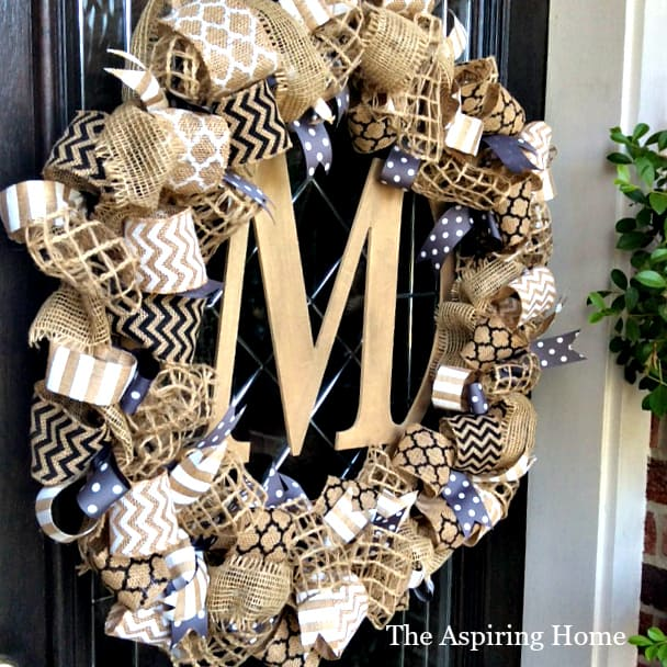 1 wreath style 3 different ways for fall