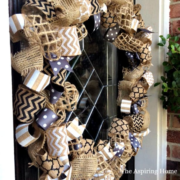 1 wreath styled 3 different ways