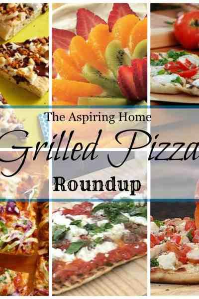 Weekend Menu: Grilled Pizza