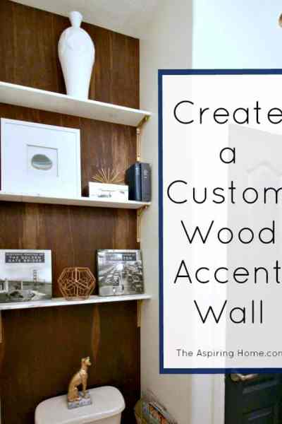 Create A Custom Wood Accent Wall