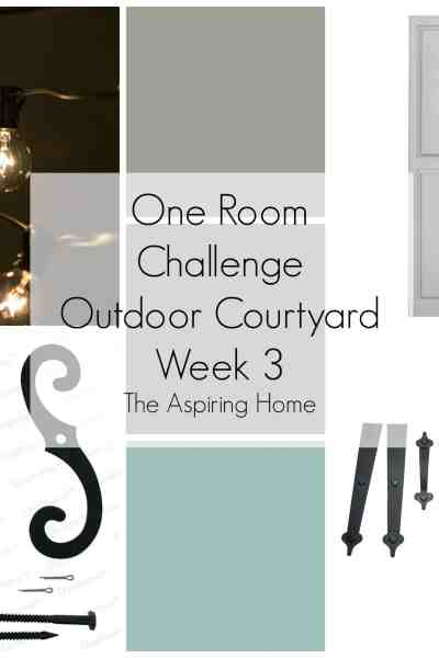 One Room Challenge -Week 3 – Under Construction, Sort Of