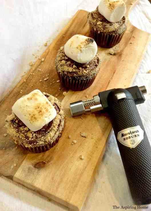 Easy S'mores Cupcake recipe