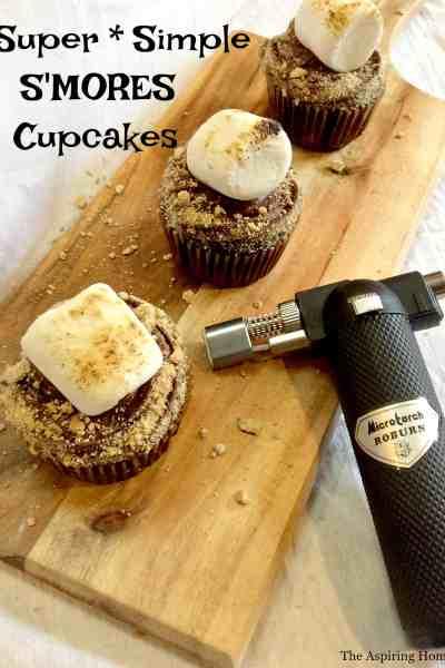 Super Simple S'mores Cupcake Recipe