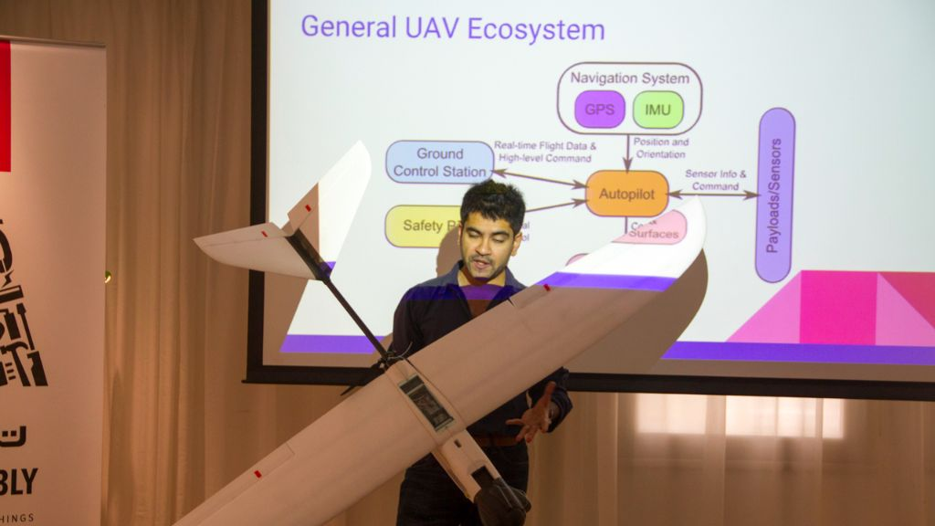 Workshop – Using Sensors in UAVs – Mar 26, 2016