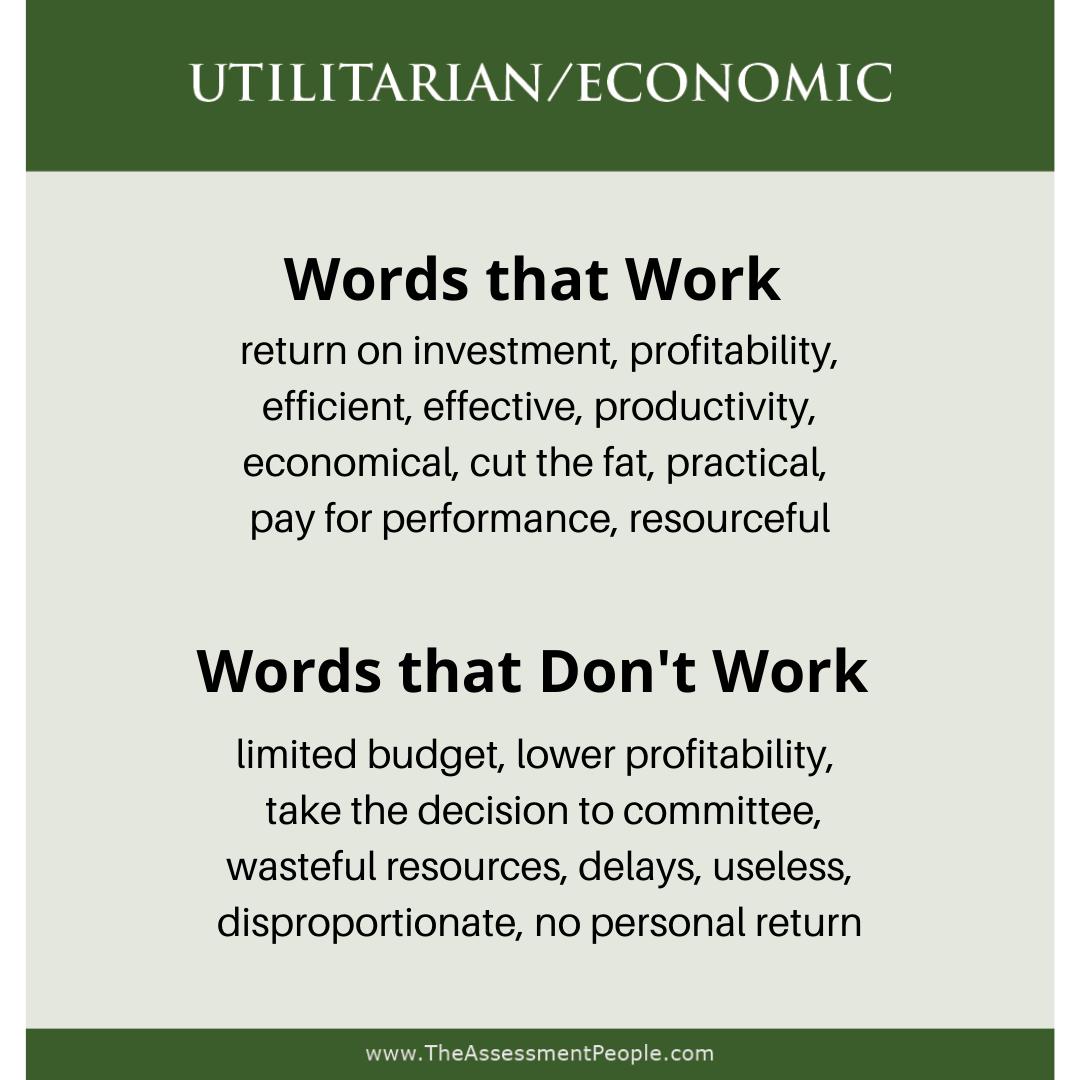 Utilitarian Words