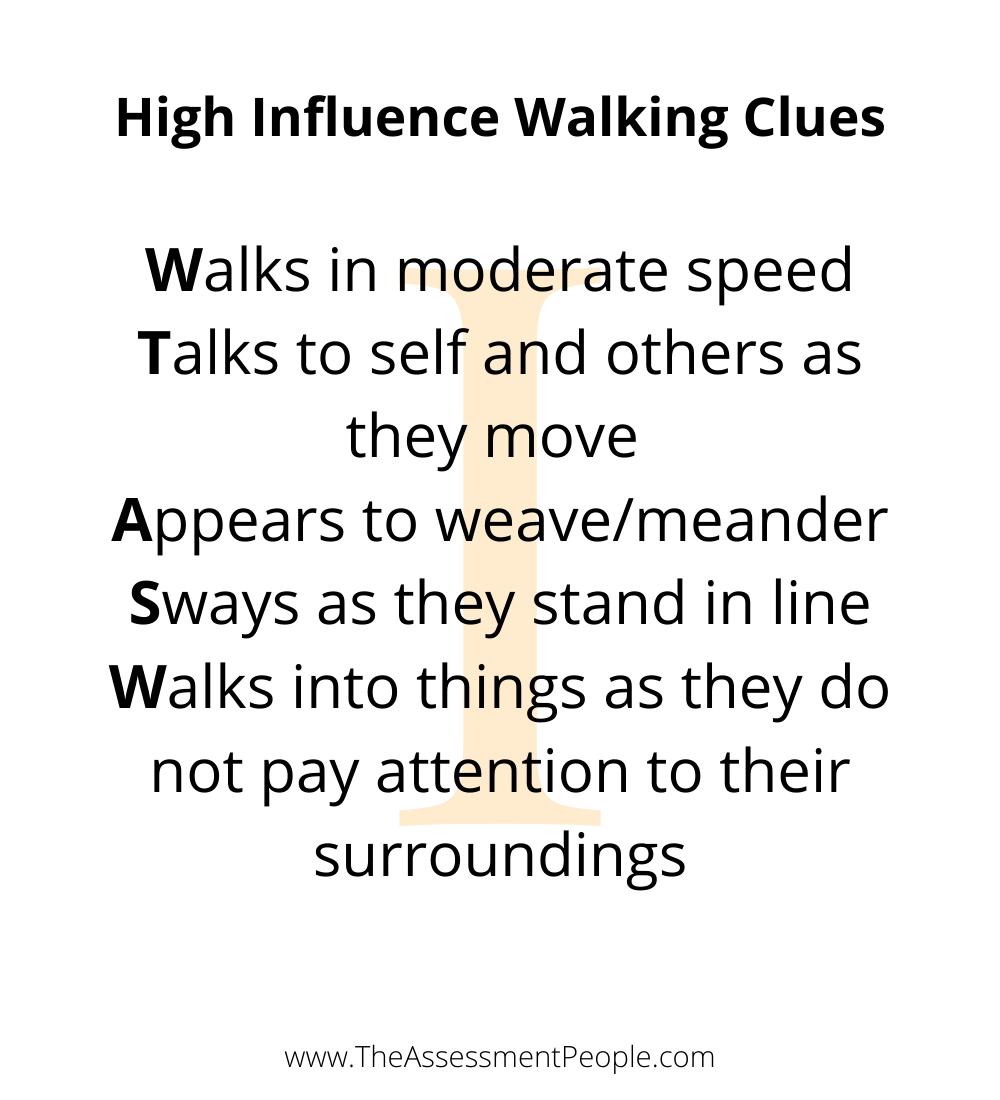 DISCInfluenceWalkingStyle
