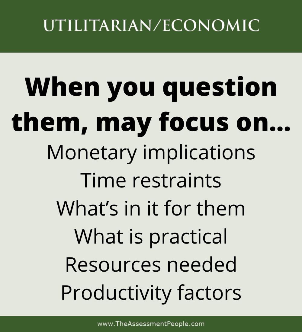 UtilitarianMotivatorQuestioned